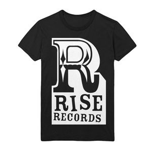 Rise Records Men's Big R Logo T Shirt